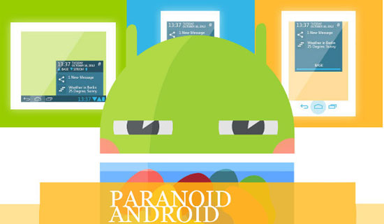 Paranoid Android HALO