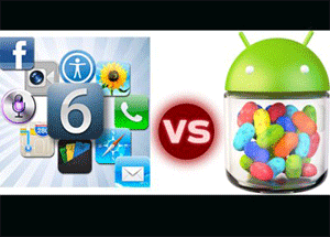 Android vs IOS 6