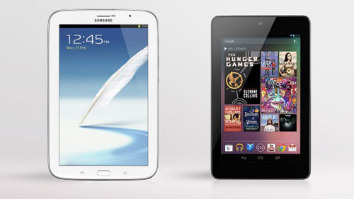 Samsung Galaxy Note 8.0 vs Google Nexus 7