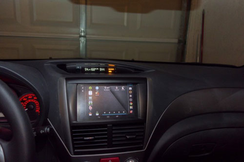 Nexus 7 in car