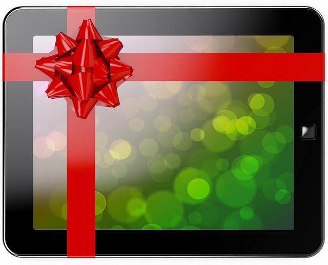 Подарки на новый год 2015 планшет